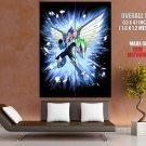 Mega Man Star Force Pegasus Art Huge Giant Print Poster