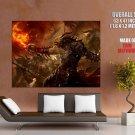 Guild Wars 2 Game Art Battle Huge Giant Print Poster