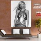 Britney Spears Hot Singer Bw Music Huge Giant Print Poster