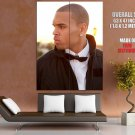 Chris Brown Hip Hop Singer Music Huge Giant Print Poster