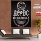 Acdc Rock Band Music Huge Giant Print Poster