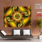Fractal Trippy Abstract Amazing Art HUGE GIANT Print Poster