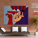 Dick Dastardly Wacky Races Art HUGE GIANT Print Poster