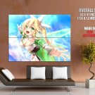 Kirigaya Suguha Sword Art Online Art HUGE GIANT Print Poster