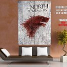The North Remembers Game Of Thrones HUGE GIANT Print Poster