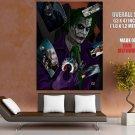 Joker Art Cards Dark Knight Batman HUGE GIANT Print Poster