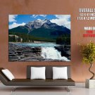 Amazing Waterfall Landscape Nature Art HUGE GIANT Print Poster