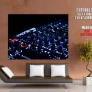 Dj Mixer Mixing Desk Music Huge Giant Print Poster