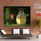 My Neighbor Totoro Rain Art Huge Giant Print Poster