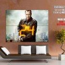 24 Jack Bauer TV Series Kiefer Sutherland HUGE GIANT Print Poster