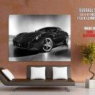 Ferrari 599 Sport Car Coupe Bw Huge Giant Print Poster