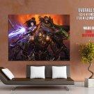 Diablo 3 Characters Video Game Art HUGE GIANT Print Poster