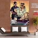 Grand Theft Auto V Gta 5 Game Art Huge Giant Print Poster