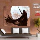 Alien Sniper Fantasy Sci Fi Art Huge Giant Print Poster