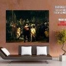 Rembrandt Van Rijn Night Watch Painting Art HUGE GIANT Print Poster