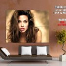 Angelina Jolie Portrait Painting Art HUGE GIANT Print Poster