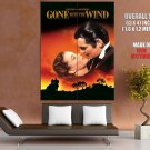 Gone With The Wind Clark Gable Vivien Leigh HUGE GIANT Print Poster