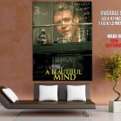 A Beautiful Mind Russell Crowe Movie HUGE GIANT Print Poster