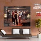 Dollhouse Characters TV Series HUGE GIANT Print Poster