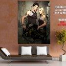 Battlestar Galactica Michael Trucco TV HUGE GIANT Print Poster