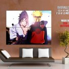 Naruto Uzumaki Uchiha Sasuke Anime Manga Art HUGE GIANT Print Poster