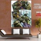 Wolverine Vs Hulk Marvel Comics Art HUGE GIANT Print Poster