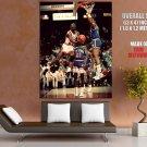 Michael Jordan Reverse Layup Nba Huge Giant Print Poster