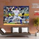 Robert Allen R A Dickey New York Mets Mlb Huge Giant Print Poster