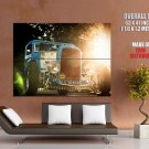Hot Rod Classic Retro Car Huge Giant Print Poster