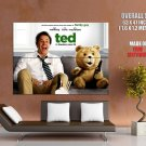 Ted Movie Mark Wahlberg Bear Huge Giant Print Poster