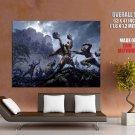 Asian Warriors Battle Art Huge Giant Print Poster