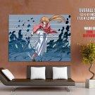Rurouni Kenshin Trust Betrayal Anime Art HUGE GIANT Print Poster