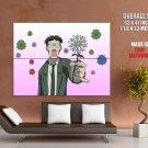 Azumanga Daioh Flower Anime Art HUGE GIANT Print Poster