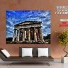 Parthenon Ancient Greek Temple Cityscape HUGE GIANT Print Poster