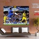 Eden Hazard Chelsea Football Soccer HUGE GIANT Print Poster