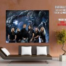 Iron Maiden Band Heavy Metal Rock Music HUGE GIANT Print Poster