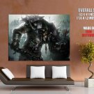 Tauren Wow Warcraft Art Huge Giant Print Poster