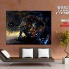 Troll Warrior Dark Fantasy Art HUGE GIANT Print Poster