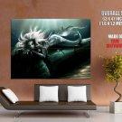 Hot Mermaid Fantasy Art Huge Giant Print Poster