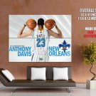 Anthony Davis New Orleans Hornets Nba Huge Giant Print Poster