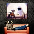Wall E And Eve Movie Huge 47x35 Print Poster