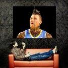 Chris Birdman Andersen Tattoos NBA Huge 47x35 Print POSTER