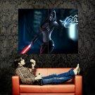 Star Wars Sith Lightning Force Art Huge 47x35 Print POSTER