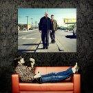 Breaking Bad Walter Jesse TV Series Huge 47x35 Print POSTER