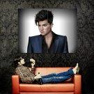 Adam Lambert Painting Art Singer Music Huge 47x35 Print POSTER