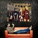 The Avengers Marvel Comics Art Huge 47x35 Print POSTER