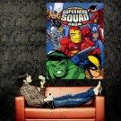 Super Hero Squad Marvel Comics Art Huge 47x35 Print POSTER