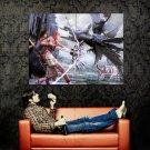 Final Fantasy 13 Ffxiii Game Art Huge 47x35 Print Poster