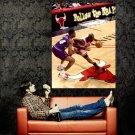 Michael Jordan Vs Utah Jazz Finals NBA Huge 47x35 Print POSTER