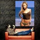 Jessica Alba Sexy Hot Actress Beach Huge 47x35 Print POSTER